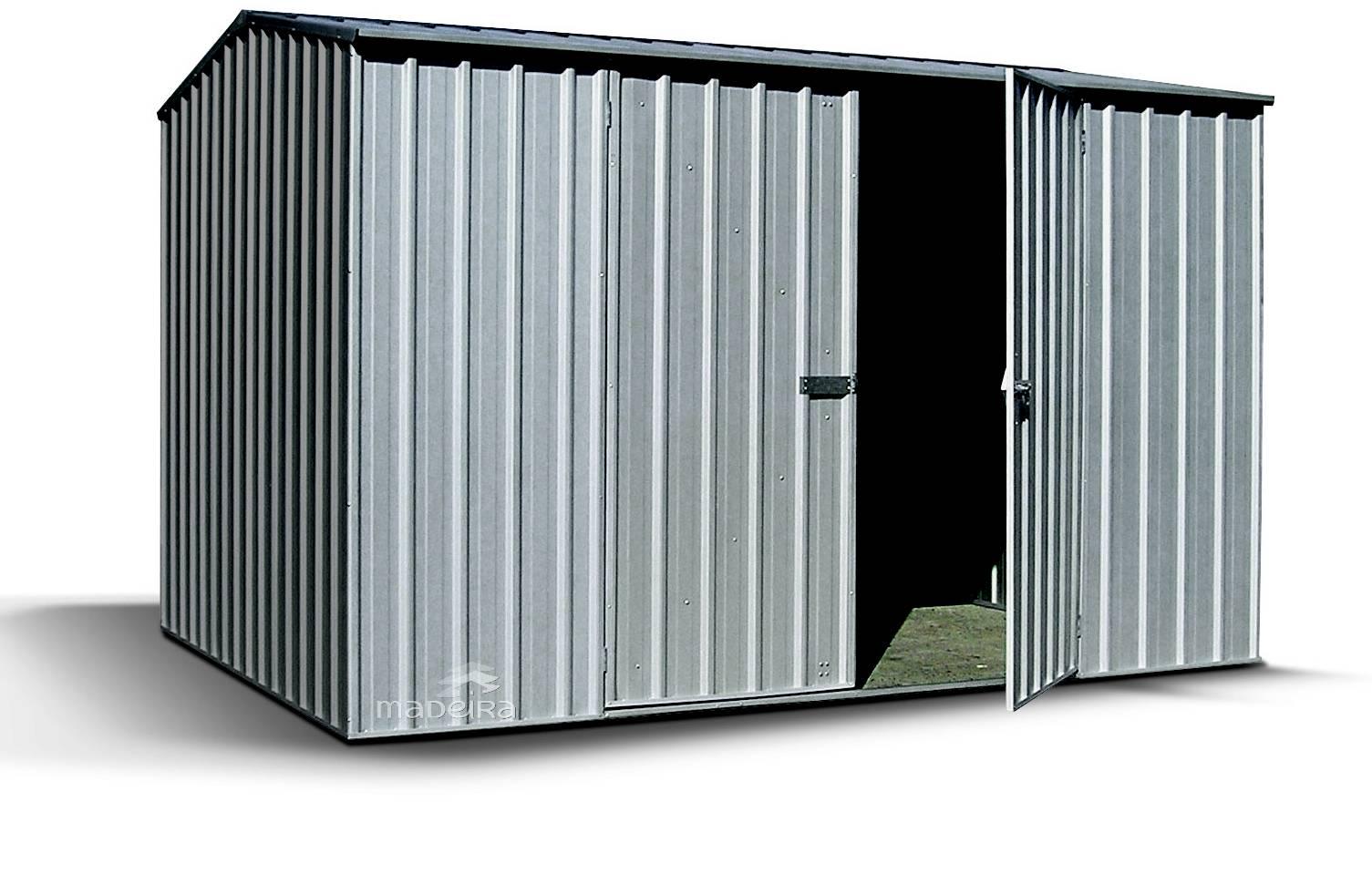 abri en metal vous cherchez un abri de jardin en m tal. Black Bedroom Furniture Sets. Home Design Ideas